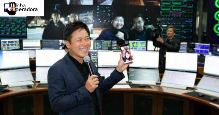 Coreia do Sul lança suas primeiras redes 5G