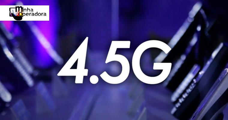 4.5G da Oi já está disponível em 25 cidades