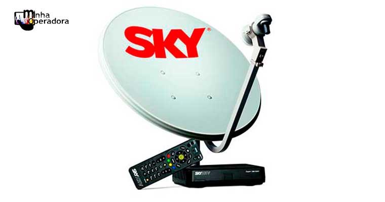 SKY abre sinal de quatro canais; válido para clientes pré-pago