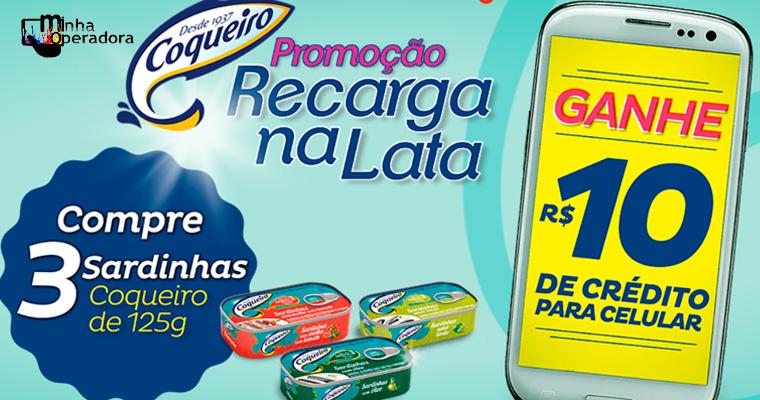 Promoção garante recarga de R$ 10 através do aplicativo Recarga Pay