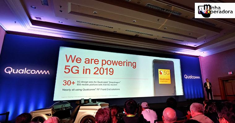 Qualcomm promete que muitos smartphones 5G serão lançados em 2019