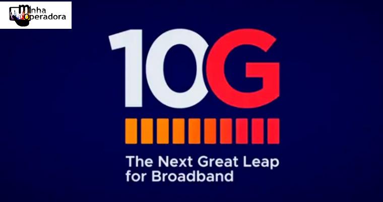 Testes com banda larga de 10 Gbps com cabos HFC começam em 2020