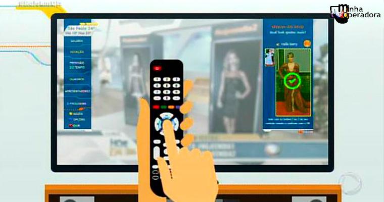 Graças a TV Digital, Record promove votação pelo controle remoto