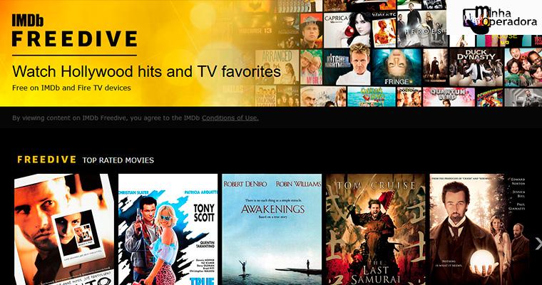 Amazon lança serviço de streaming gratuito