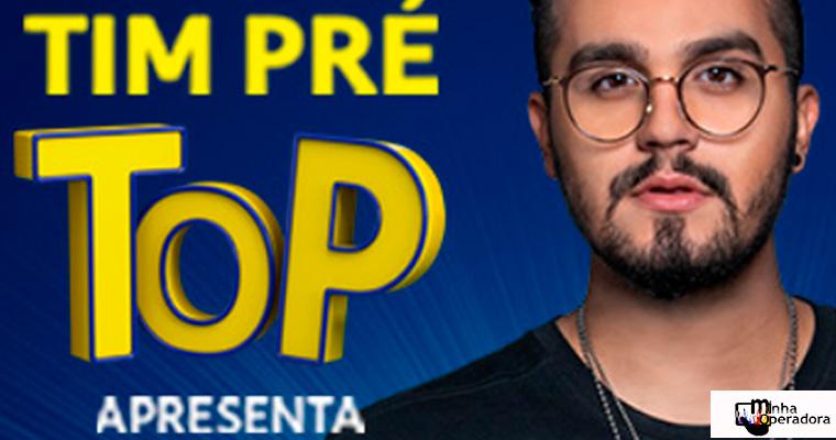 Luan Santana irá fazer show em comemoração ao TIM Pré TOP