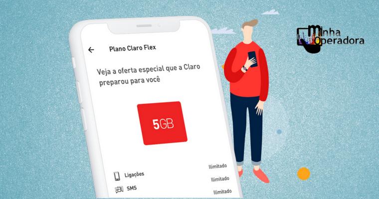 App do plano Claro flex retorna; confira o que muda