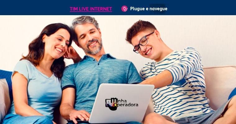 TIM aumenta velocidade dos planos TIM Live Internet para modem