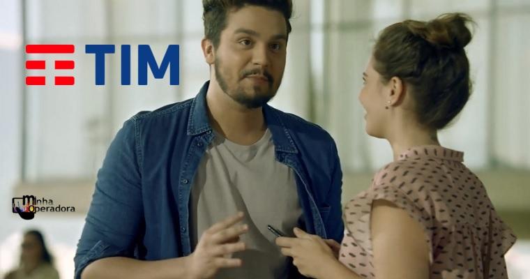 Luan Santana é o novo garoto propaganda da TIM