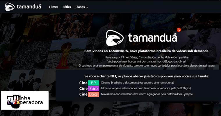 Conheça a Tamanduá TV, plataforma de streaming com foco na cultura