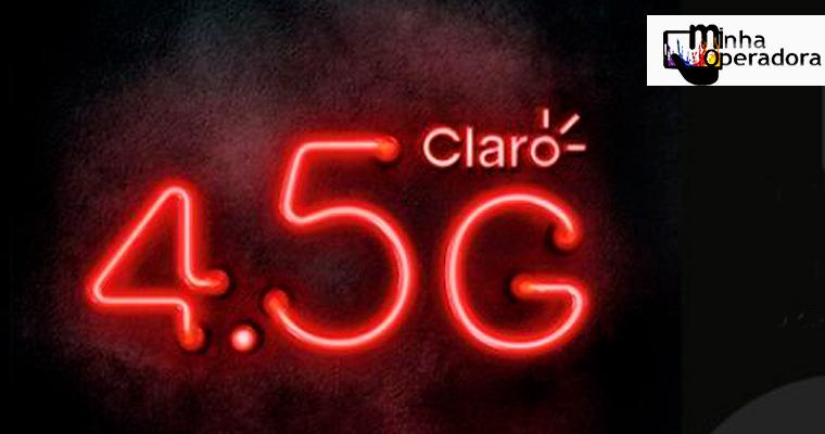 Claro é criticada pela propaganda do 4.5G