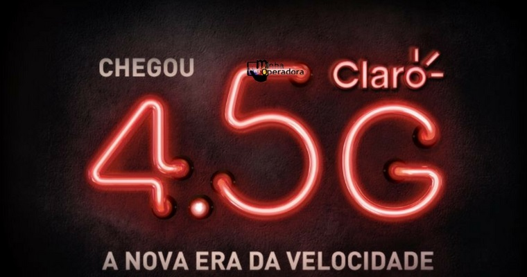 Procon notificará a Claro pela propaganda do 4.5G