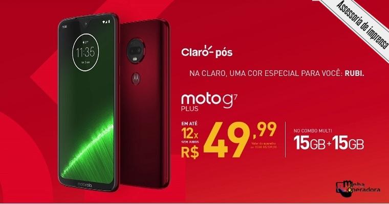 Claro e NET lançam nova família Moto G7 com oferta combinada