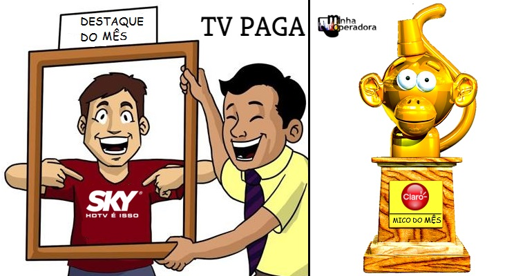 Claro TV é ultrapassada pela Vivo e vai parar na lanterna do setor