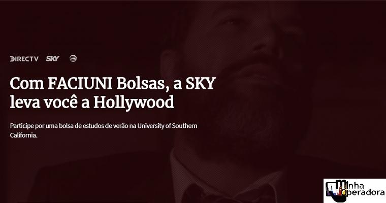 SKY anuncia os primeiros finalistas do projeto Faciuni Bolsas