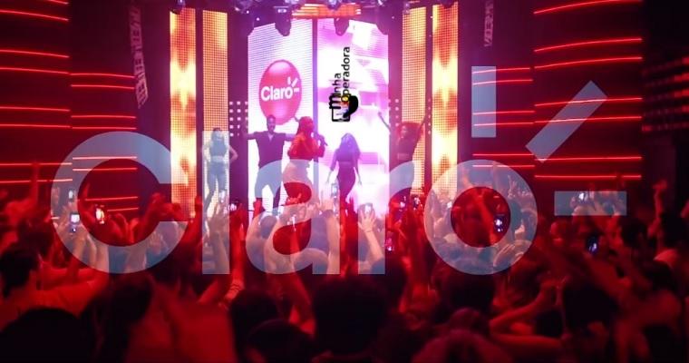 Anitta grava nova campanha para a Claro: 'É 4.5G na cara deles'