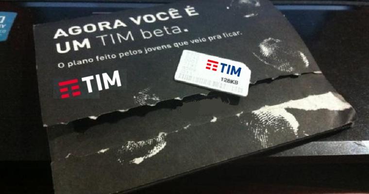 TIM distribui convites para o TIM Beta até o final de fevereiro