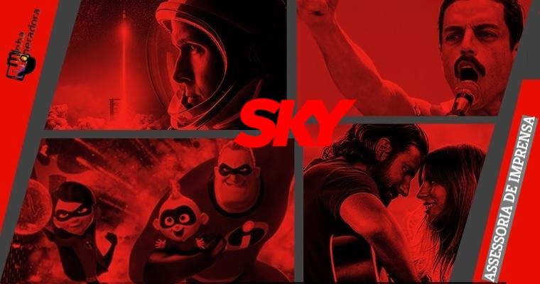 O Oscar continua para o assinante SKY
