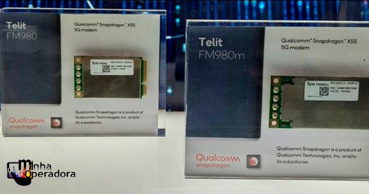 Intel e Qualcomm estão trabalhando em módulos 5G para computadores