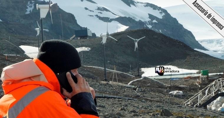 Presidente inaugura sistema de telecom operado pela Oi na Antártica