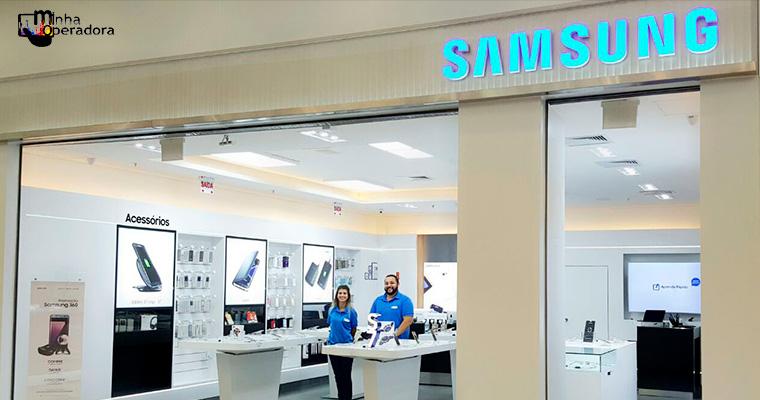 Samsung venderá planos pós-pago em suas lojas