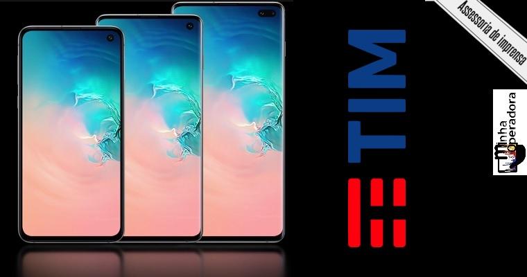 Novo Samsung Galaxy S10 chega à TIM