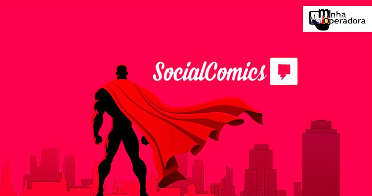 Claro adiciona o serviço Social Comics a sua lista de SVAs