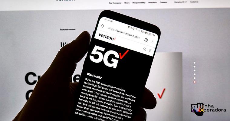 5G da Verizon registra 760 Mbps em teste