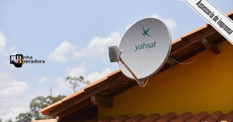 Yahsat oferece o dobro de velocidade em cinco estados do Nordeste