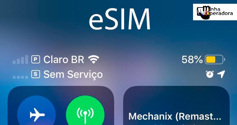 Cliente tem dificuldade para aderir eSIM em plano pré-pago da Claro