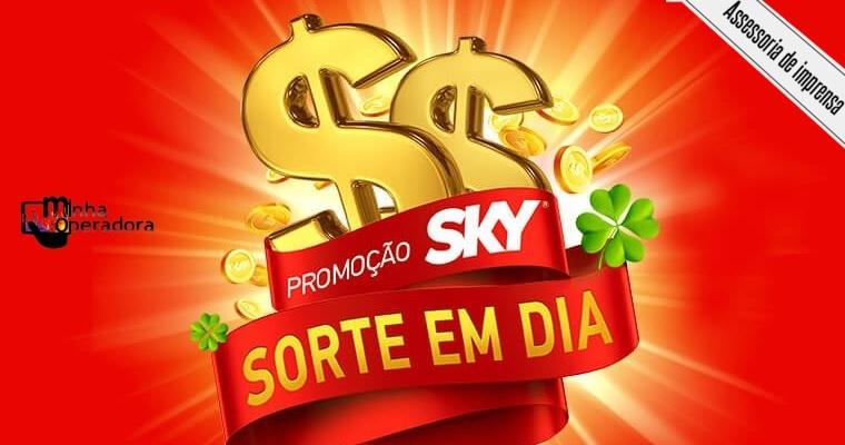 Promoção 'SKY Sorte em Dia' vai premiar 151 assinantes da operadora