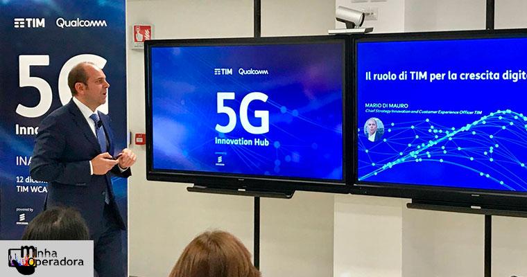 Telecom Italia irá expandir acordo de compartilhamento de rede 5G