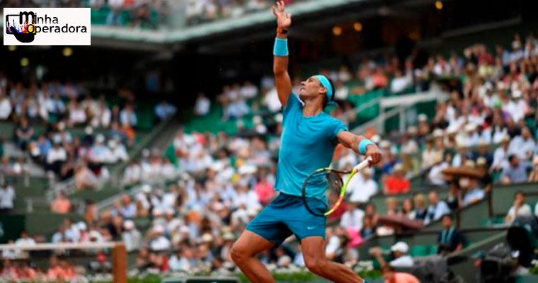 Roland Garros fecha parceria com a Vivo para transmissão no Brasil
