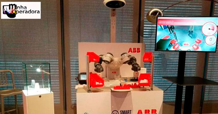 Este é o primeiro robô colaborativo com 5G que trabalha com humanos
