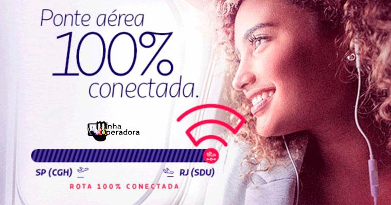 LATAM passa a oferecer Wi-Fi em todos os voos Rio-São Paulo