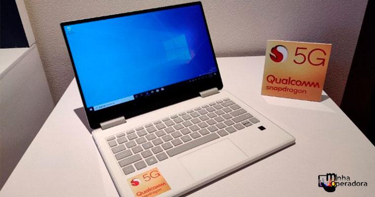 Qualcomm e Lenovo apresentam primeiro notebook com 5G