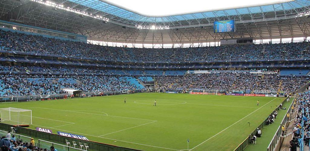 Arena do Grêmio também terá cobertura 4.5G da Oi na Copa América