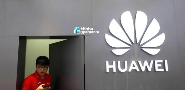 Porta aberta Huawei