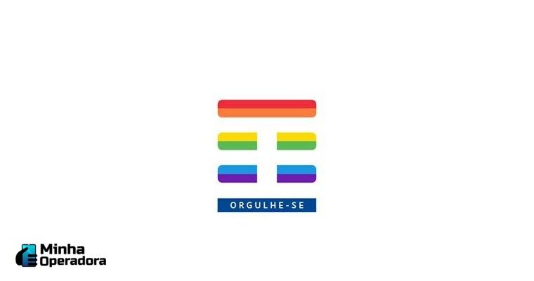 tim apoia a causa lgbt nas redes sociais com marca na cor do arco-íris