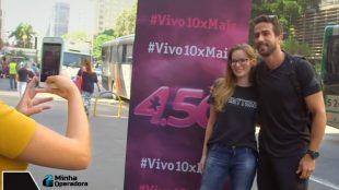 Clientes da Vivo gravam vídeos elogiando a operadora, sem cachê