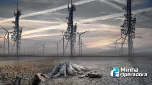 Internet supera indústria aeroespacial na emissão de CO2