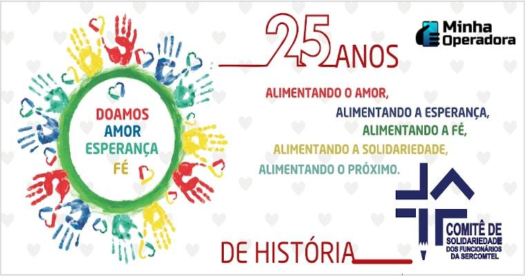 25 anos Comitê Solidariedade dos Funcionários Sercomtel