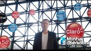 'Agora, NET está na Claro', diz novo comercial da operadora