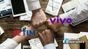 TIM e Vivo anunciam compartilhamento de redes 2G e 4G