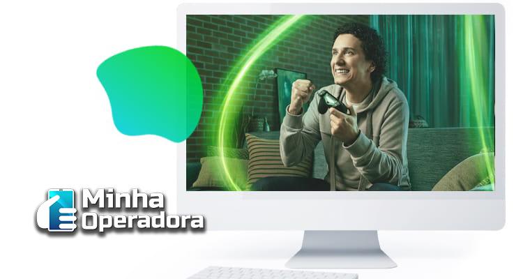 Campanha publicitária da Oi Fibra.