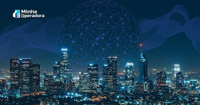 Cidade inteligente - Ilustração