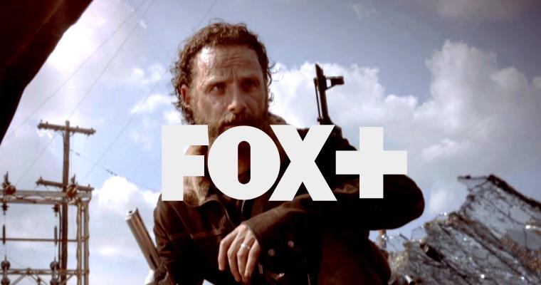 Divulgação da série The Walking Dead no FOX+