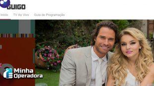 Guigo TV: Aplicativo oferece TV paga na internet
