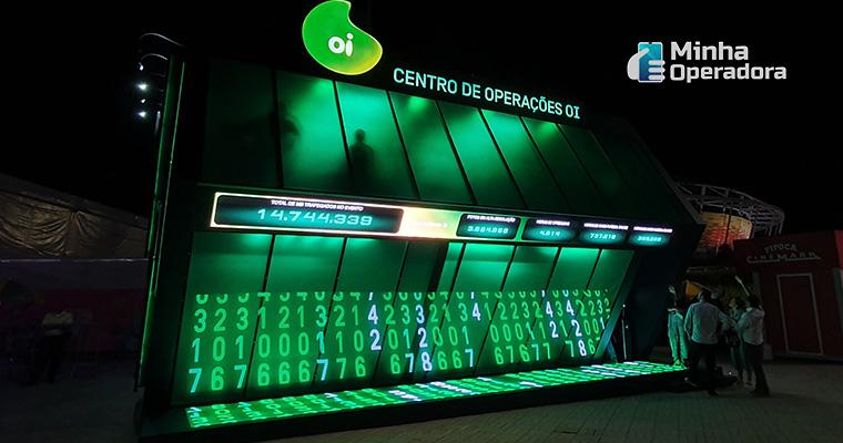 Centro de Operações da Oi na Game XP