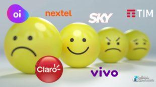 Vivo e NET/Claro são as empresas mais reclamadas dos últimos meses
