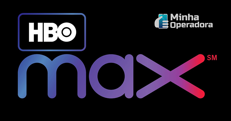 Logotipo do HBO Max, novo streaming da WarnerMedia.